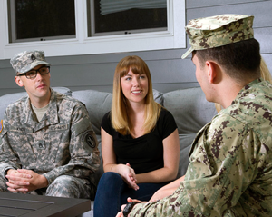 Blue Star Families, military spouse
