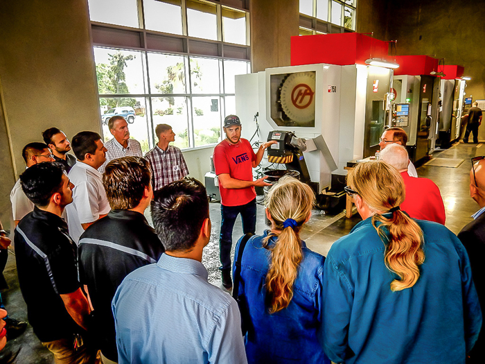 East County EDC manufacturing tour
