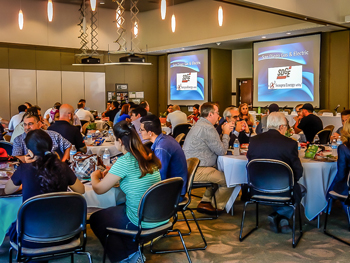 East County EDC manufacturing tour Q&A lunch panel