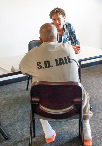 EMRF job fair in a jail