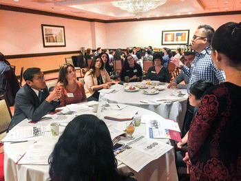 Hospitality HR professionals learn about SDWP's business