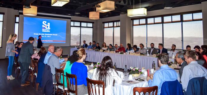 San Diego Chamber cross-border business forum