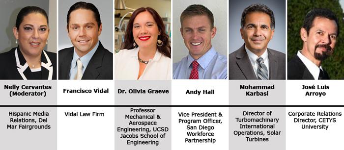 San Diego Chamber cross-border business forum panel