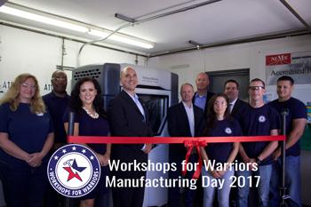 Workshops for Warriors Manufacturing Day: Lorena Gonzalez Fletcher, Hernán Luis y Prado