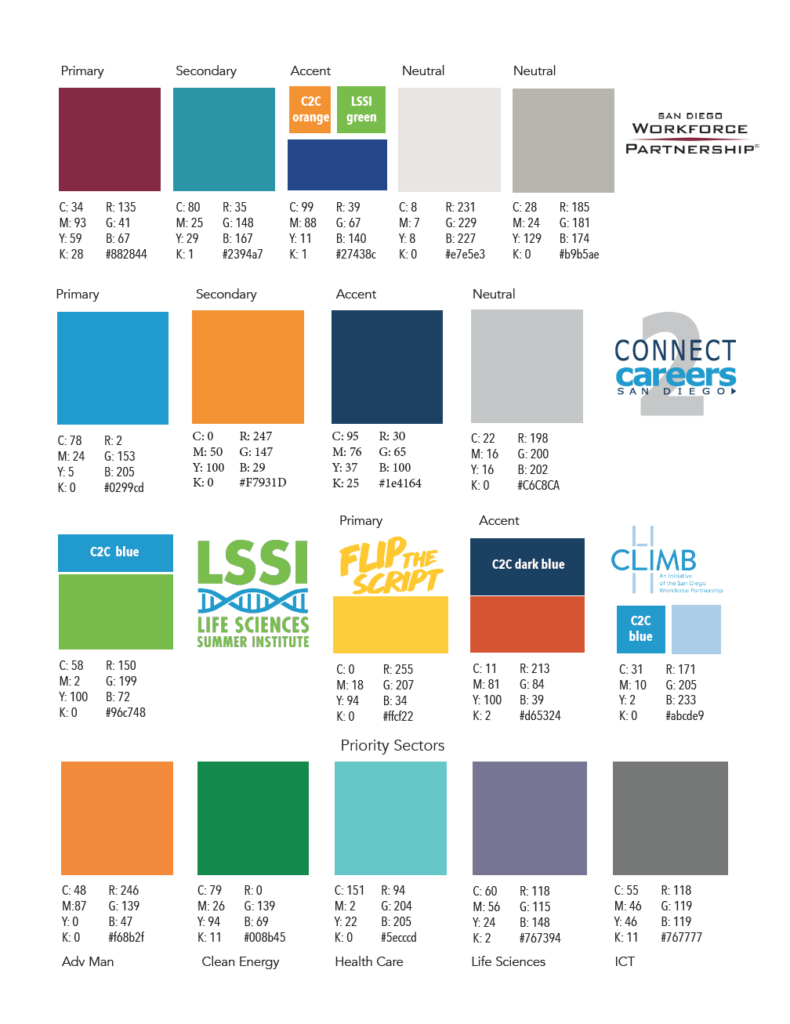 Color palette 2017