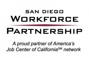 SDWP logo with AJCC tagline