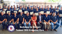 Workshops for Warriors class Of 2018