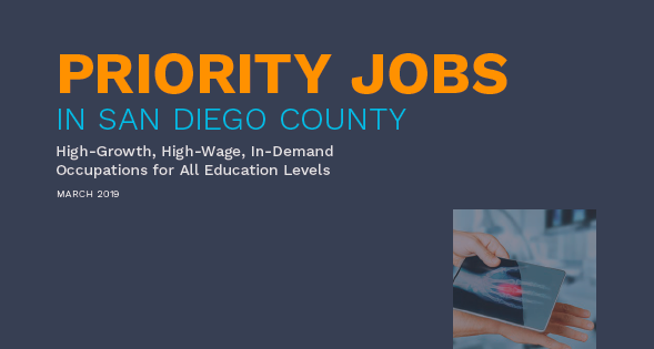 Priority Jobs in San Diego County 2019