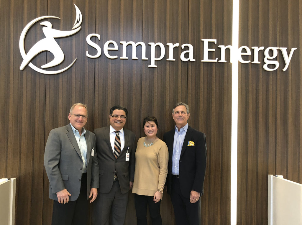Group Under Sempra Sign