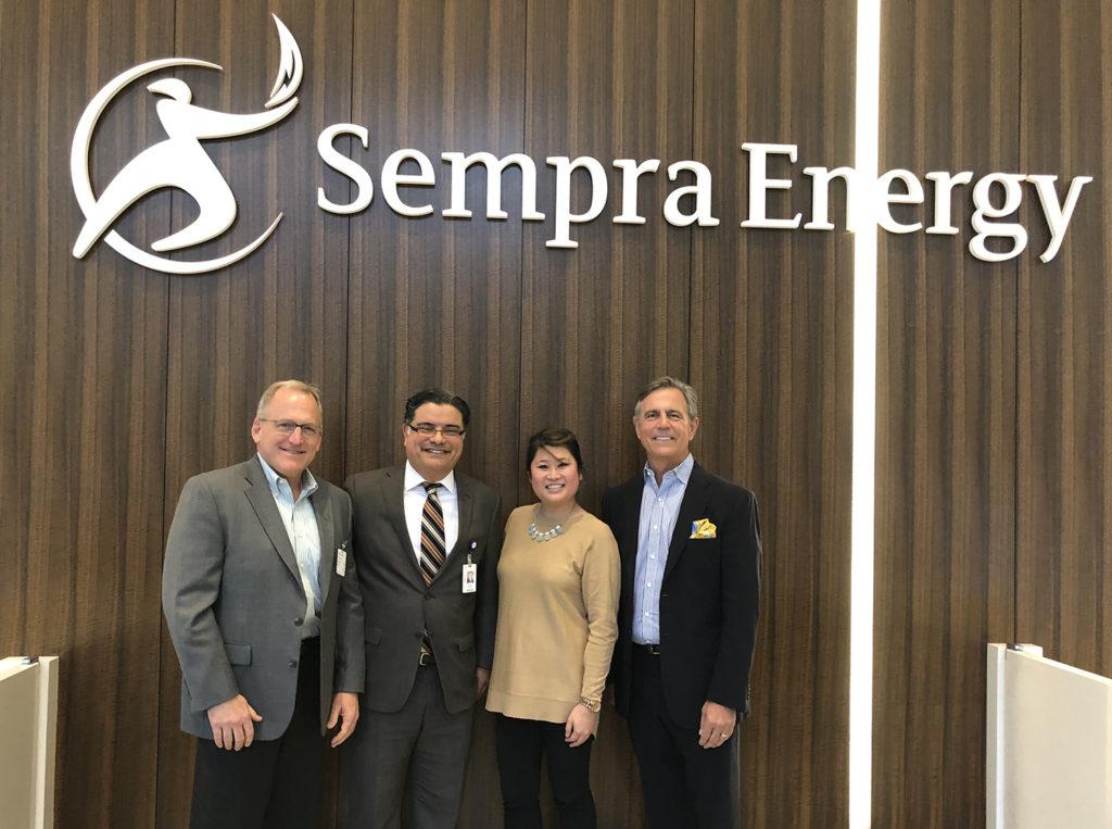 Group Under Sempra Sign