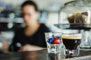 Barista photo by Photo by Louis Hansel on Unsplash