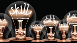 Image of lightbulbs with text