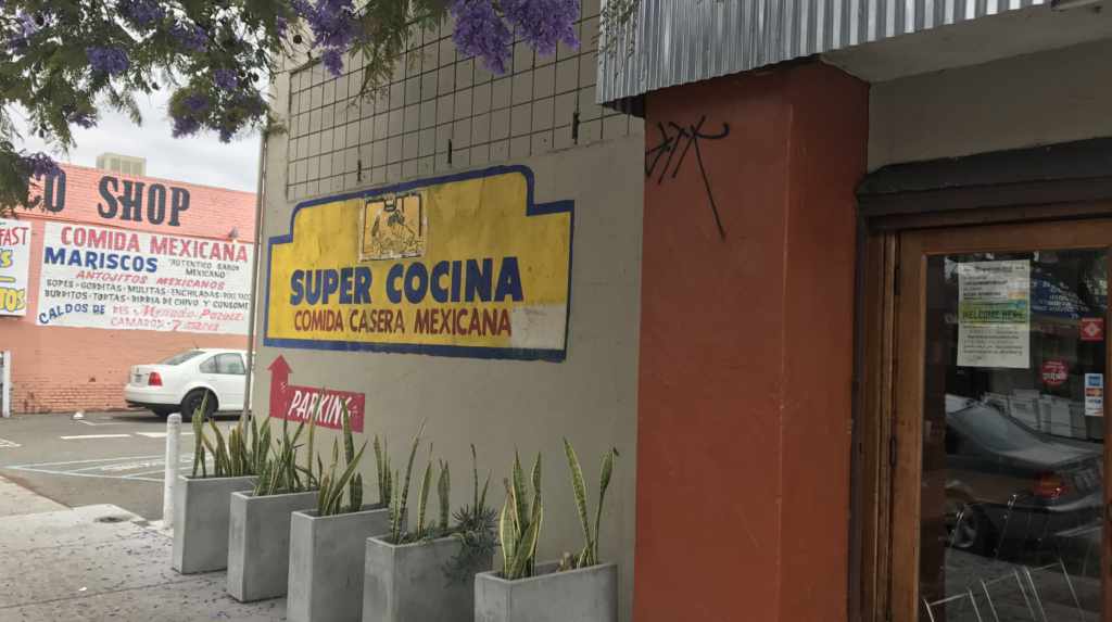 Outside view of Super Cocina