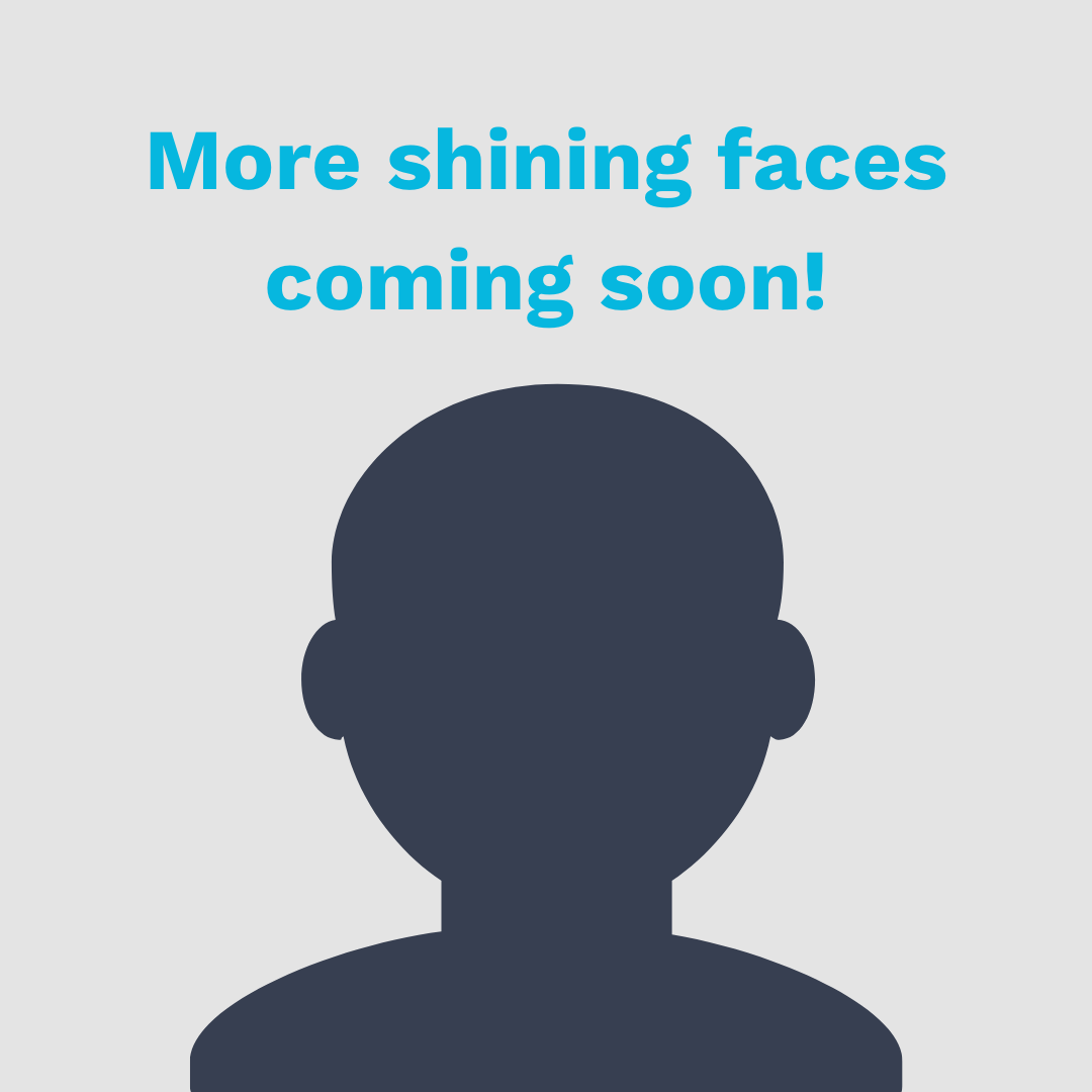 More Shining Faces Coming Soon