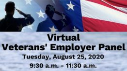 Virtual Veteran Employer Panel August 2020