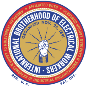 International Brotherhood Of Electrical Workers (emblem)